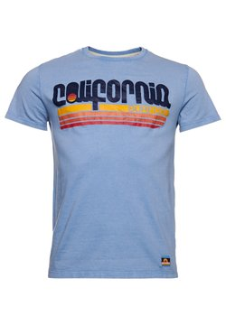 Superdry - CALI SURF GRAPHIC - T-Shirt print - forever blue