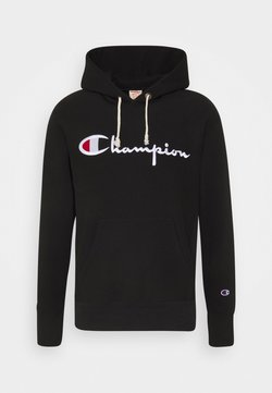 Champion Reverse Weave - HOODED - Hoodie - black