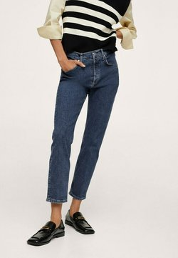 Mango - Trousers - dark blue