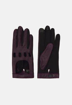 Otto Kessler - Fingerhandschuh - deep purple