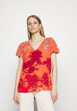 Expresso - FRANCIEN - T-Shirt print - coral