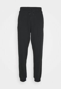 Converse - MENS EMBROIDERED STAR CHEVRON PANT - Jogginghose - black