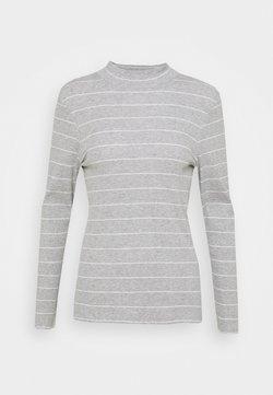 s.Oliver - LANGARM - Langarmshirt - grey strip