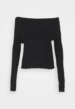 Trendyol - Strickpullover - black
