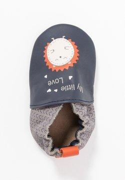 Robeez - LITTLEHEDGEHOG - Chaussons pour bébé - marine/gris