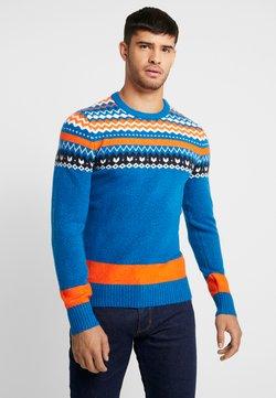 TOM TAILOR - Pullover - blue/orange