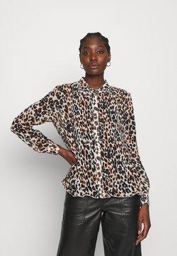 Calvin Klein - GEORGETTE BLOUSE 2-IN-1 - Bluse - white/black