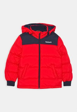 Timberland - PUFFER JACKET - Talvitakki - bright red