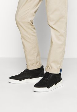 Filling Pieces - LOW TOP GHOST DECON - Trainers - black/black