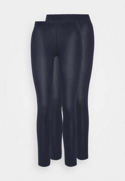 Even&Odd Petite - 2 PACK  - Legging - dark blue