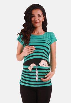 M.M.C. - BABY FLUCHT - T-Shirt print - mint