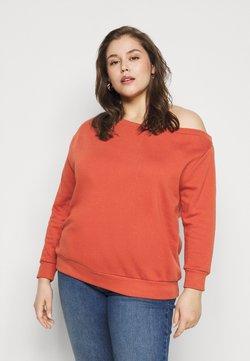Even&Odd Curvy - Sweatshirt - rust