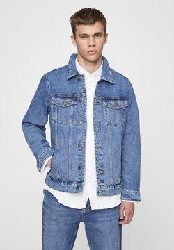 PULL&BEAR - Kurtka jeansowa - dark blue