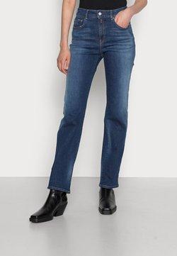Replay - FLORIE PANTS - Straight leg jeans - medium blue
