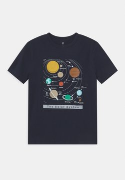 GAP - VALUE GRAPHICS - T-Shirt print - true indigo