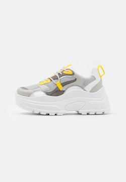 Topshop - CAMMIE CHUNKY TRAINER - Sneaker low - grey