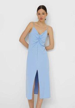 Stradivarius - LINGERIE-OPTIK - Cocktailkleid/festliches Kleid - light blue