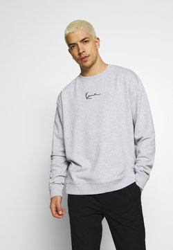 Karl Kani - SIGNATURE CREW - Sweatshirt - grey/black