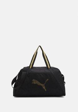 Puma - GRIP BAG 25 L - Sporttasche - black/bright gold