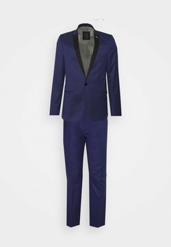 Shelby & Sons - COFTON TUXEDO SUIT  - Anzug - navy