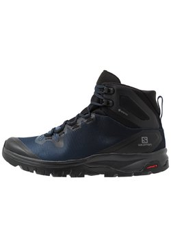 Salomon - VAYA MID GTX - Hikingskor - black/sargasso sea/black
