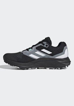 adidas Performance - TERREX TWO FLOW - Hikingschuh - core black/halo silver/halo blue