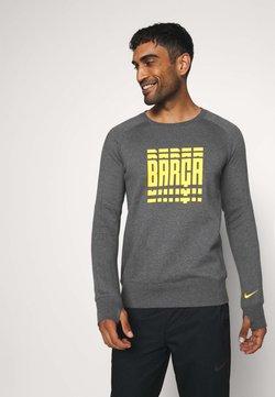 Nike Performance - FC BARCELONA - Equipación de clubes - charcoal heather/amarillo