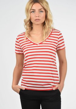 JDY - LEONIE - T-Shirt print - high risk red