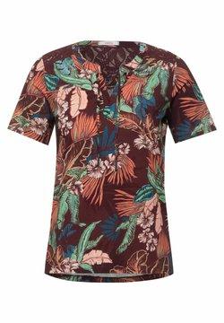 Cecil - T-Shirt print - rot