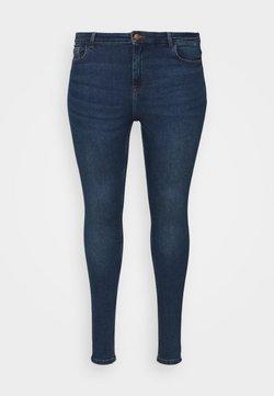Pieces Curve - PCHIGHFIVE FLEX - Jeans Skinny Fit - medium blue denim