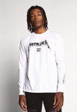 Billabong - METALLICA - Langarmshirt - white