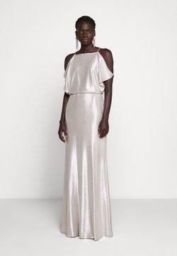 Lauren Ralph Lauren - LONG - Suknia balowa - champagne/silver