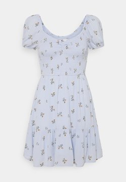 Hollister Co. - CHAIN SHORT DRESS - Freizeitkleid - blue