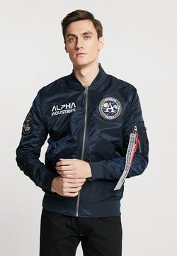 Alpha Industries - MOON LANDING - Giubbotto Bomber - blue