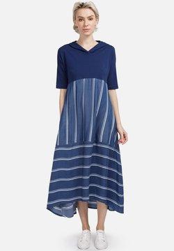 HELMIDGE - Freizeitkleid - breitband blau