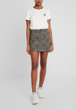 Urban Classics - LADIES SKIRT - Jeansrock - grey