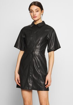 Weekday - SAVANAH DRESS - Robe chemise - black