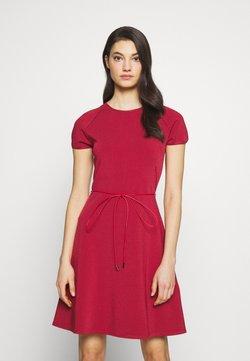 Bally - BELTED DRESS - Neulemekko - red