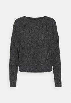 ONLY - ONLKAYLEE - Strickpullover - dark grey melange