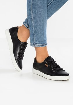 ECCO - SOFT - Sneakers laag - black