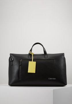 Calvin Klein - POCKET WEEKENDER - Weekender - black