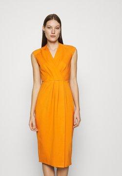 Closet - WRAP PENCIL DRESS - Etuikjole - rust