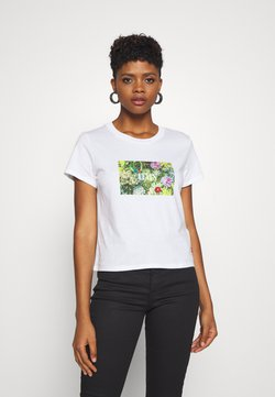 Levi's® - GRAPHIC SURF TEE - T-Shirt print - white