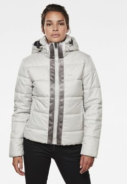 G-Star - MEEFIC HOODED PADDED  - Winterjacke - cool grey