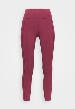 Sweaty Betty - SUPER SCULPT 7/8 YOGA LEGGINGS - Medias - renaissance red