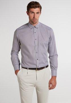 Eterna - MODERN FIT - Businesshemd - braun/weiß