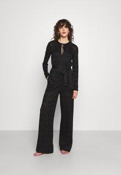 M Missoni - LONG OVERALLS - Jumpsuit - black