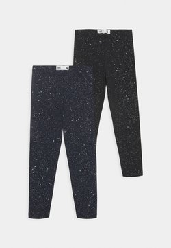 Cotton On - HUGGIE 2 PACK - Legging - black/galactic sparkles