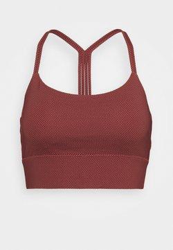 GAP - MEDIUM IMPACT ECLIPSE LONGLINE BRA - Sport BH - cosmetic pink