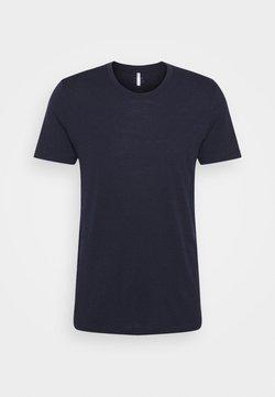 Icebreaker - TECH LITE CREWE - T-Shirt basic - midnight navy